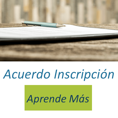 Su Acuerdo de Inscripción | The Learning Source